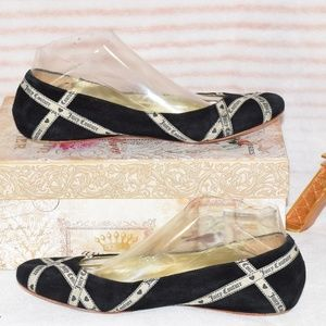 JUICY COUTURE Juicy Couture | Blk Ballerina Flats